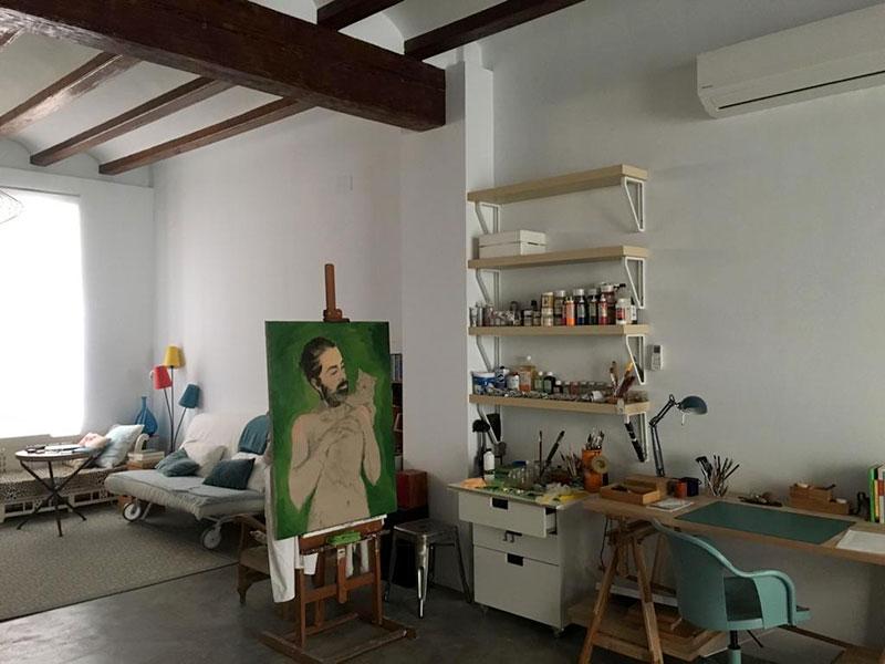 Planta baja estudio, Valencia